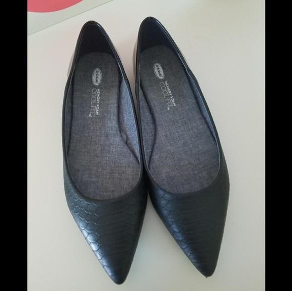 8e600307093f Dr. Scholl s Shoes - Dr. Scholl s Memory Foam Cool Fit Black Flats